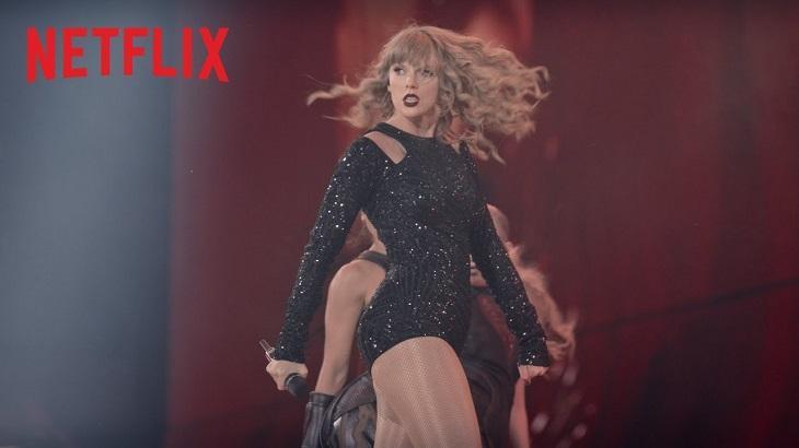 Taylor Swift na Netflix - Foto: Reprodução/Youtube