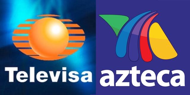 Televisa e Azteca, as duas maiores redes de televisão do México