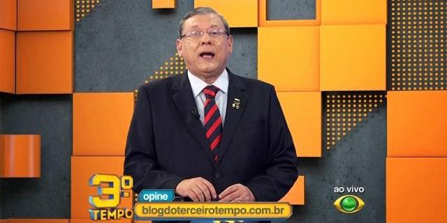 Milton Neves pede desculpas à Luísa Mell: