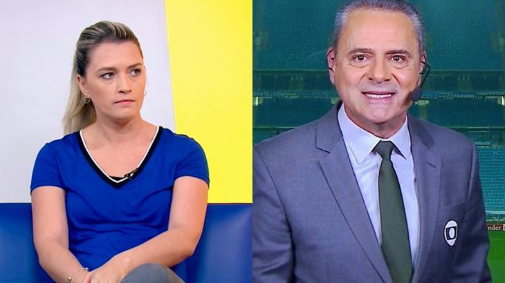 Luís Roberto fez questionamento que não agradou os internautas - Foto: Montagem