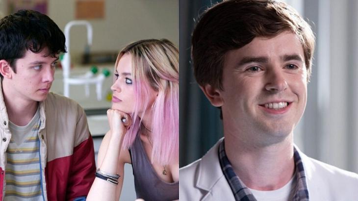 Sex Education e The Good Doctor terão novas temporadas - Foto: Montagem
