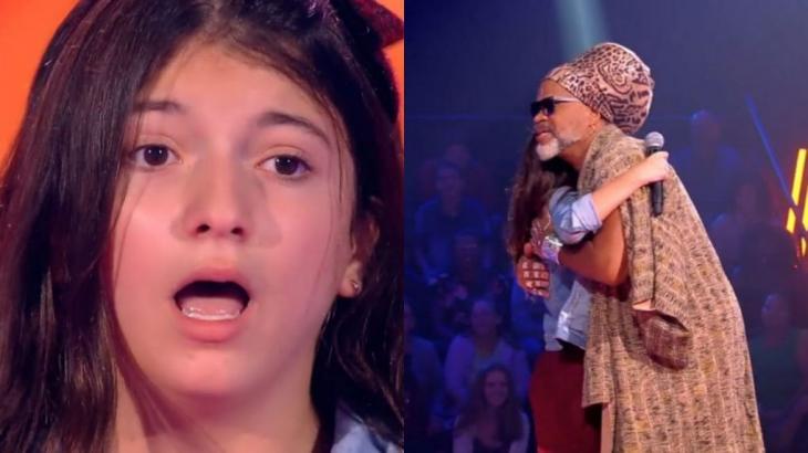 The Voice Kids: Menina esquece letra e leva susto ao perceber que foi aprovada