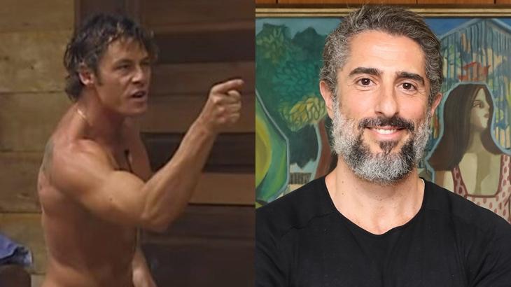 Theo Becker fez vários ataques contra o reality show A Fazenda 2019. (Reprodução/Divulgação/Montagem)
