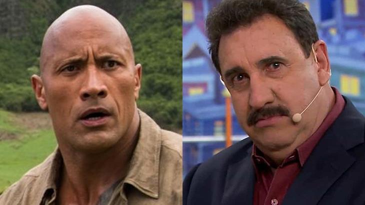 Globo desiste de enfrentar Fla-Flu no SBT e escala The Rock para bater Ratinho