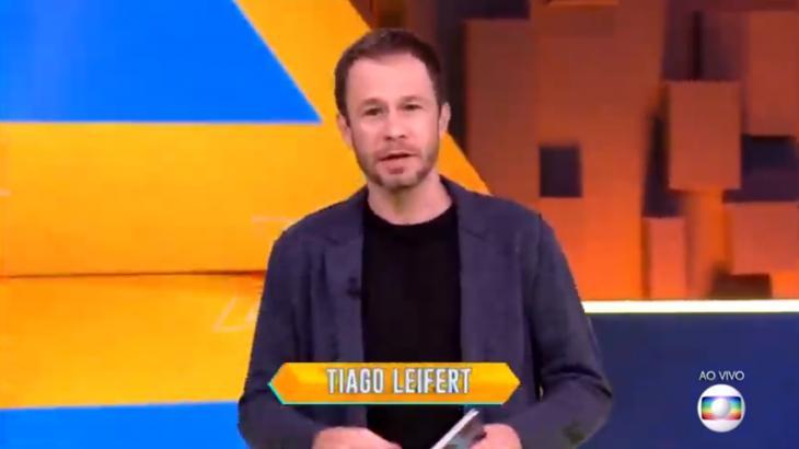 """BBB20: Tiago Leifert dá bronca em brothers: """"Solidariedade é no Criança Esperança"""""""