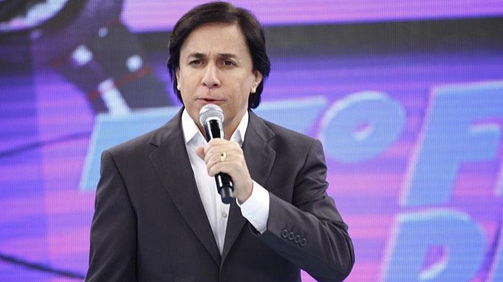 Tom Cavalcante à frnete de seu programa na Record - Divulgação