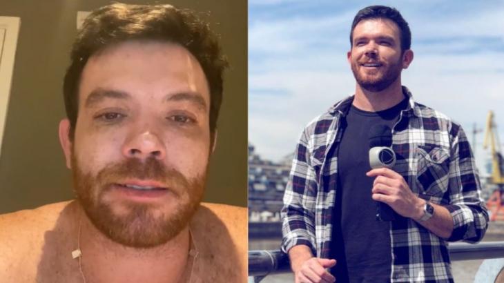 Tom Bueno descobriu câncer de pele após remoção de duas pintas no ombro