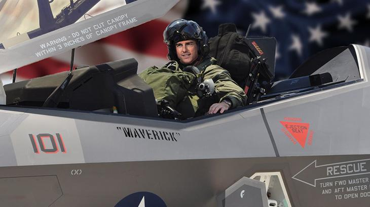 Tom Cruise em Top Gun 2