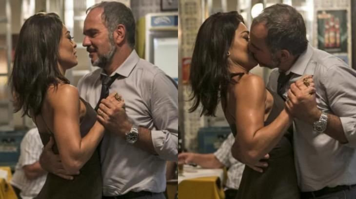 Em Totalmente Demais, Germano vai realizar antigo desejo ao beijar Carolina - Foto: Reprodução/Globo