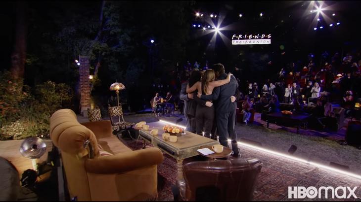 Imagem do trailer do especial de Friends