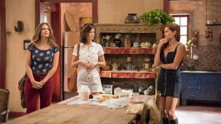 Luna, Kyra e Alexia vão parar em São Paulo em Salve-se Quem Puder - Reprodução/TV Globo