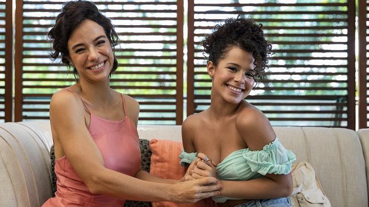 Miá Mello e Gabriella Saraivah