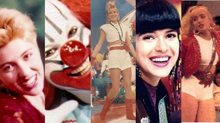 Estrelas dos anos 80 e 90 da TV - Foto: Montagem