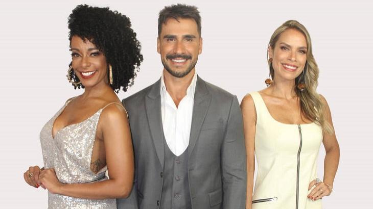 Alinne Prado, Júlio Rocha e Lígia Mendes comandaram o novo TV Fama, que não funcionou