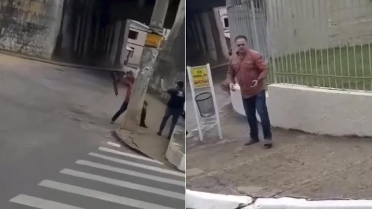 Equipe da TV Integração, afiliada da Globo em Minas Gerais, é agredida durante gravação de reportagem