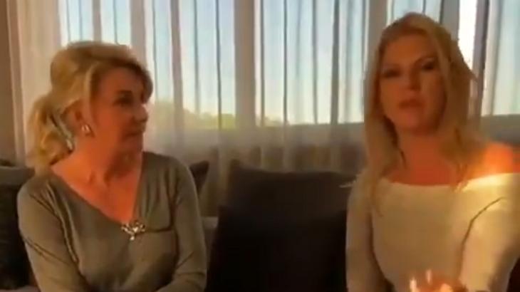 Após polêmica, Bia Doria pede desculpas e Val Marchiori reclama de