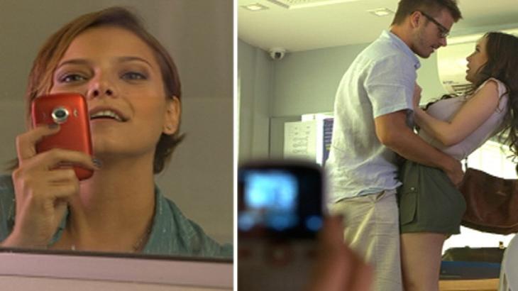 Fina Estampa: Vanessa filma assédio e enquadra professor tarado