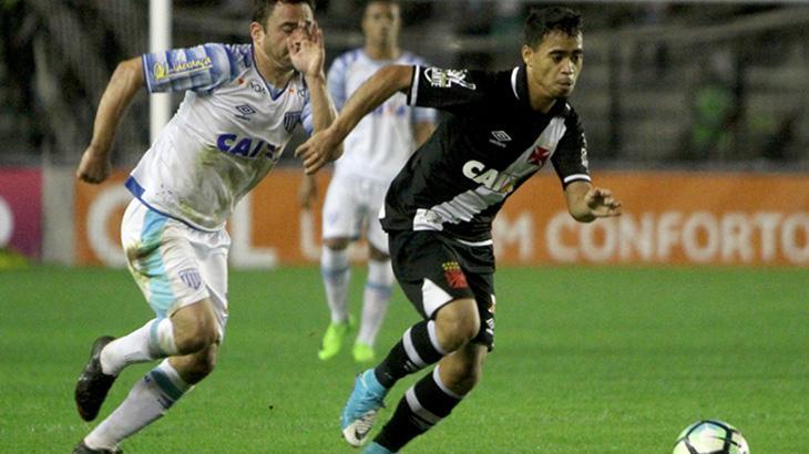 Vasco venceu o Avaí por 3 a 2 no jogo de ida da terceira fase da Copa do Brasil