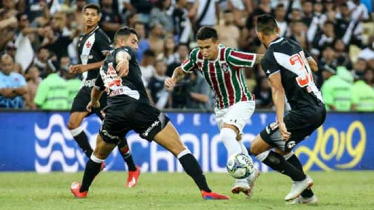 Vasco derrotou o Fluminense no último domingo