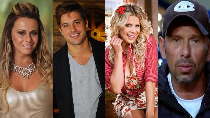 Vencedores de diferentes temporadas do reality show. Quem ganhará a temporada de A Fazenda 2019? (Reprodução/Montagem)