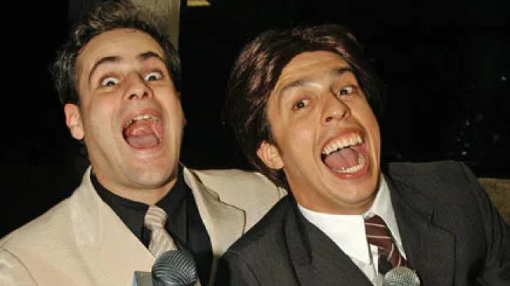 Rodrigo Scarpa e Wellington Muniz, o Ceará, formaram dupla de sucesso no Pânico na TV