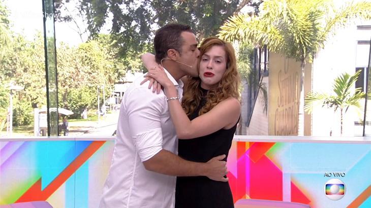 Joaquim Lopes e Sophia Abrahão não conseguiram se segurar no final do programa