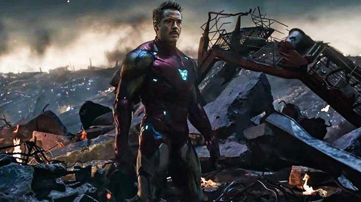 O Homem de Ferro em cena de