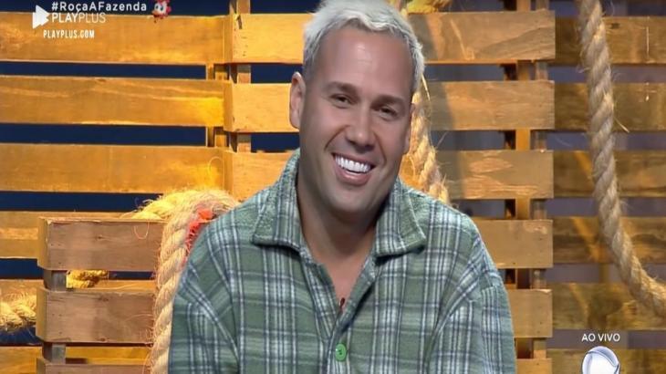 Viny Vieira falou sobre roça no reality show A Fazenda 2019 (Reprodução)