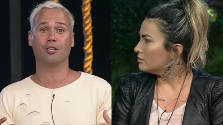 Viny Vieira detonou Thayse Teixeira durante formação da roça em A Fazenda 2019