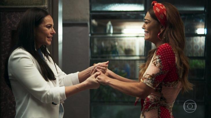 Vivi devolve a fábrica para Maria da Paz em A Dona do Pedaço - Reprodução/TV Globo