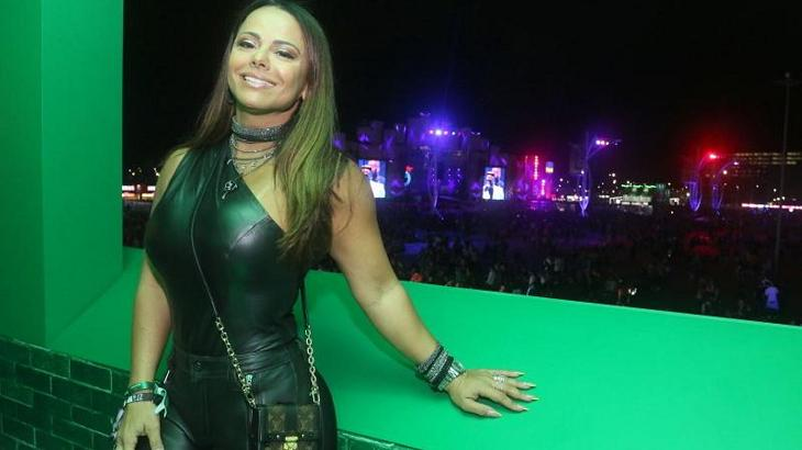 """Viviane Araújo se declara pela primeira vez para o novo namorado: \""""I love you\"""""""