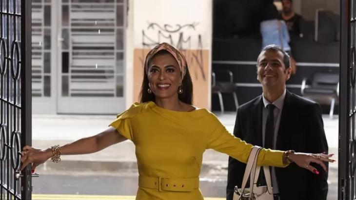 A volta triunfal de Maria da Paz à fábrica - Divulgação/TV Globo