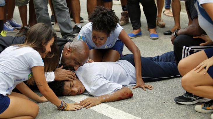 Wesley sofre acidente fatal - Divulgação/TV Globo