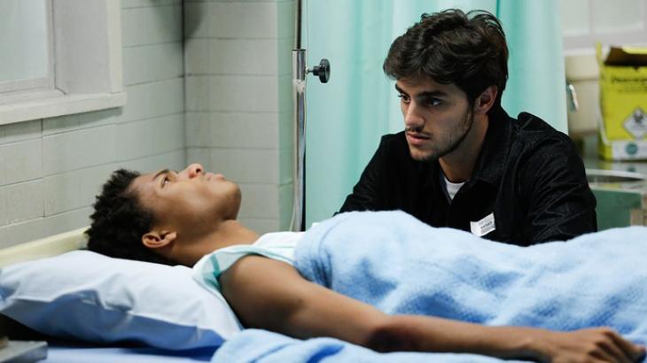 Wesley desabafa com o irmão Jonatas - Divulgação/TV Globo