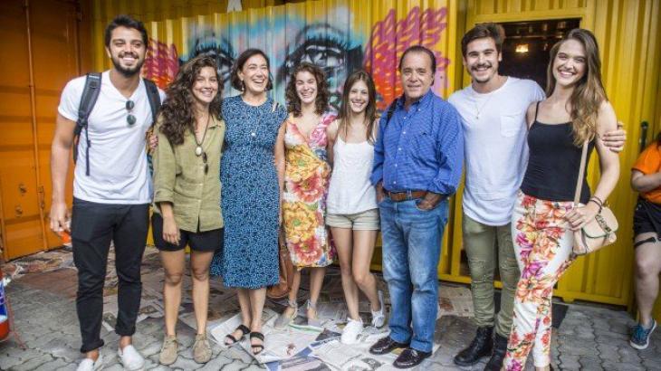 Lilia Cabral e Tony Ramos participam de workshop para preparar elenco de nova temporada de