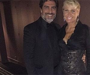 """Xuxa vai à festa da Telefe na Argentina e diz: """"Estou muito feliz"""""""