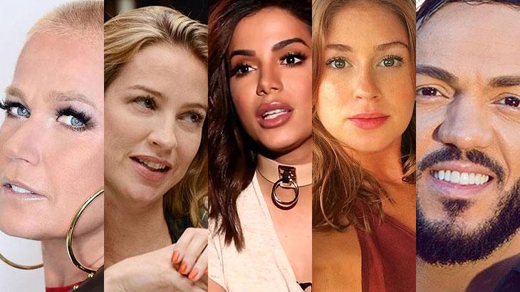 10 famosos que cortaram relações por causa de traição, dívida e brigas nos bastidores