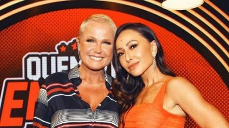 Xuxa e Sabrina Sato