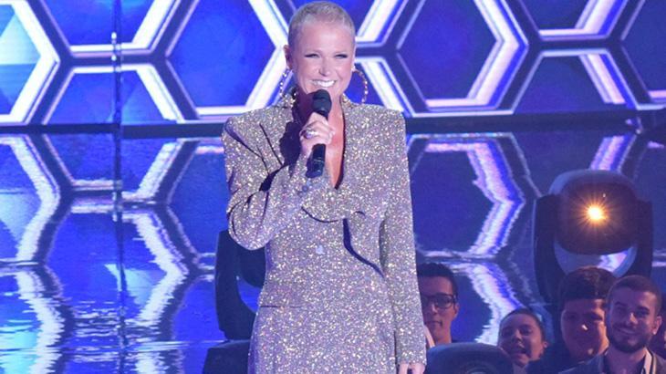 Xuxa em seu segundo reality na Record, o The Four