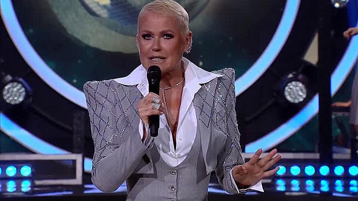 Xuxa Meneghel é apresentadora do