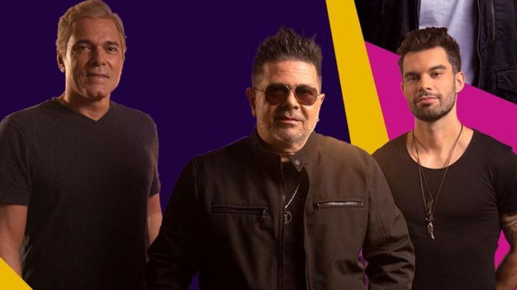 Banda Yahoo é formada por Marcelão, Zé Henrique e Rodrigo Novaes