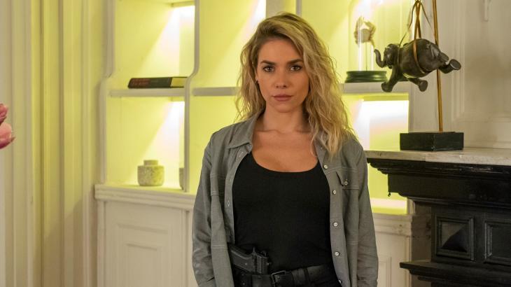 Yohana desiste de Téo e parte para cima de Marcio em A Dona do Pedaço - Divulgação/TV Globo