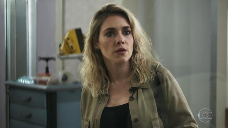 Yohana desmascara Camilo em A Dona do Pedaço - Reprodução/TV Globo