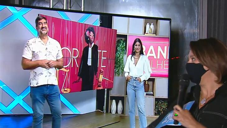 Zeca Camargo conversou com Cátia Fonseca