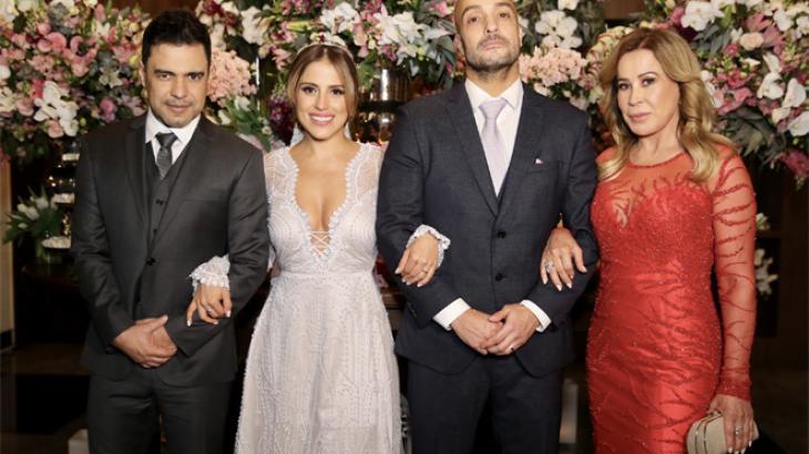 Após o casamento de Camilla, Zilu posta fotos ao lado de Zezé e elogia a filha