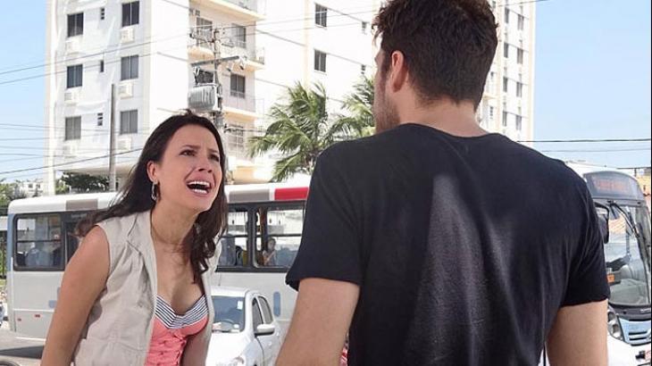 Briga entre Zuleika e Rafael termina na delegacia em Fina Estampa - Reprodução/TV Globo