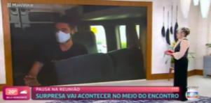 Ana Maria Braga e Cauê Fabiano no Mais Você
