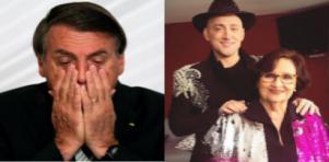 Mãe de Paulo Gustavo criticou Bolsonaro