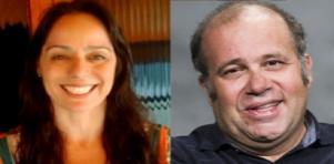 Claudia Mauro e Otavio Muller