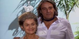 Cecília e Jacques na porta de Marta
